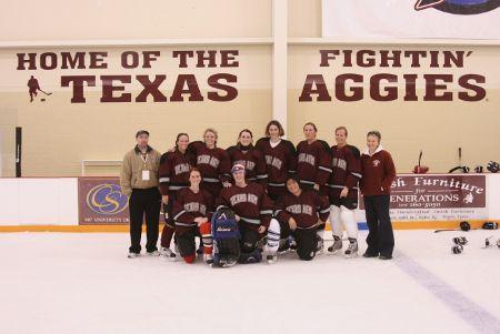 TAMU Womens Hockey Team